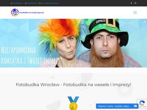 Fotoboxik.pl - fotobudka z Wrocławia