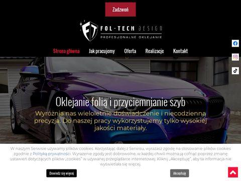 Fol-Tech Design oklejanie samochodów Trójmiasto