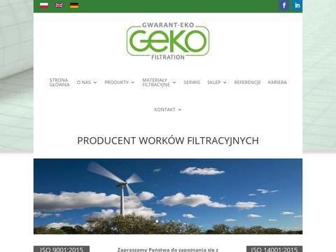 Gwarant-Eko s.c. - producent worków filtracyjnych