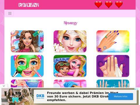Gry dla dziewczyn - ubieranki, randki, makijaż