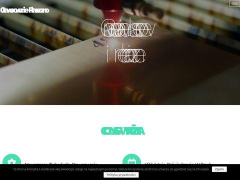 Margraw piaskowanie ozdobne Warszawa