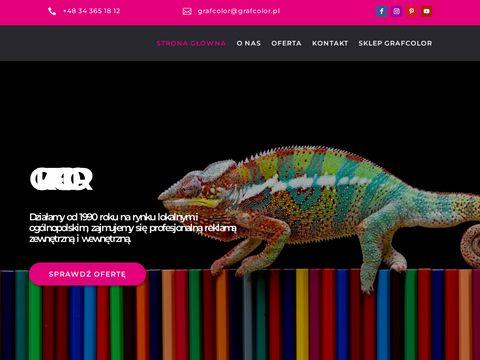 Grafcolor druk wielkoformatowy