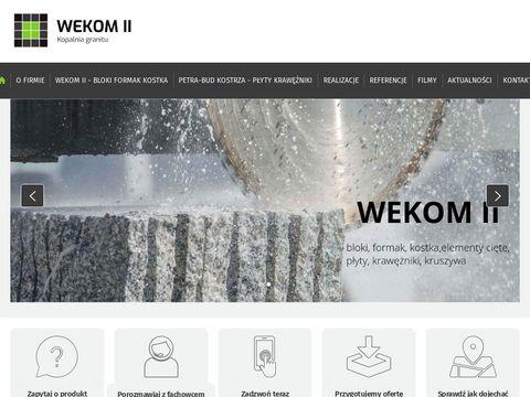 Granit-kostrza.pl kopalnia granitu