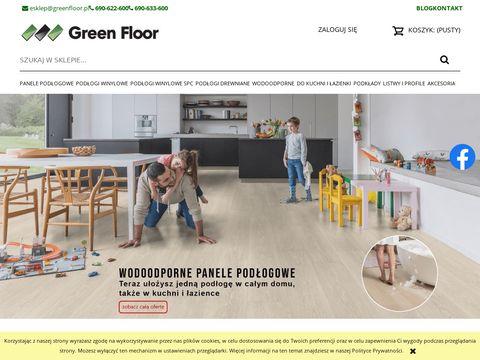 Greenfloor.sklep.pl internetowy panele winylowe