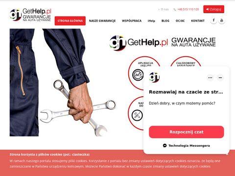 Gethelp.pl samochody używane z gwarancją