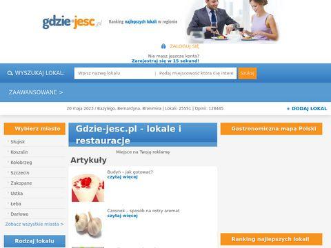 Gdzie-jesc.pl - opinia o lokalach