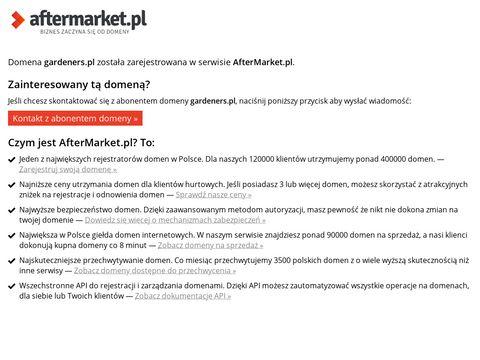 Gardeners.pl usługi ogrodnicze Poznań