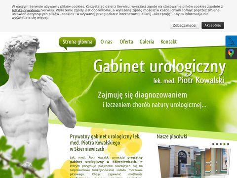 Gabineturologicznylodz.com.pl Piotr Kowalski
