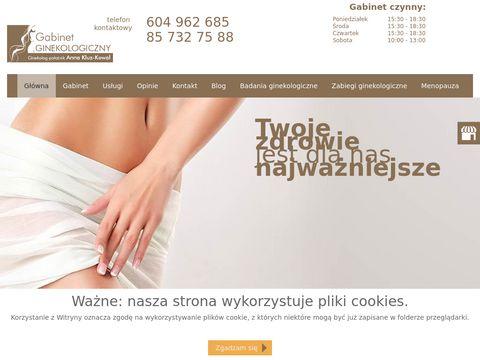 Dr n. med. Anna Barbara Kluz-Kowal Białystok