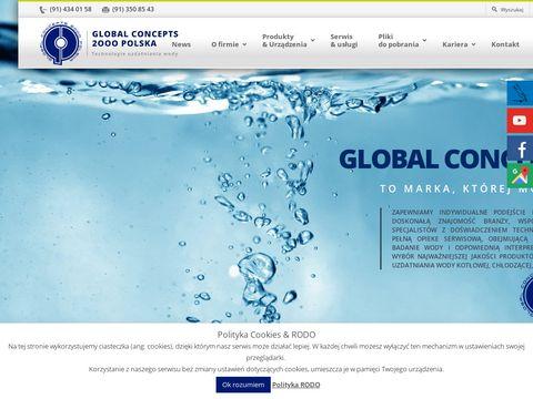 Global Concepts usuwanie kamienia kotłowego