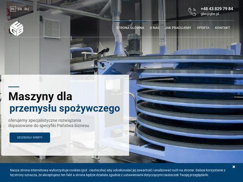 Gbe.pl maszyny i urządzenia dla przemysłu spożywczego