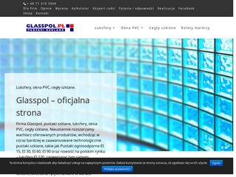 Glasspol.pl szkło luksfery fusing, Luksfery Ei 30