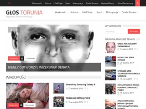 Glostorunia.pl internetowy portal regionalny