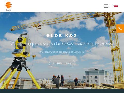 Glob K&Z skanowanie laserowe Warszawa