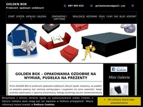 Golden Box producent opakowań ozdobnych