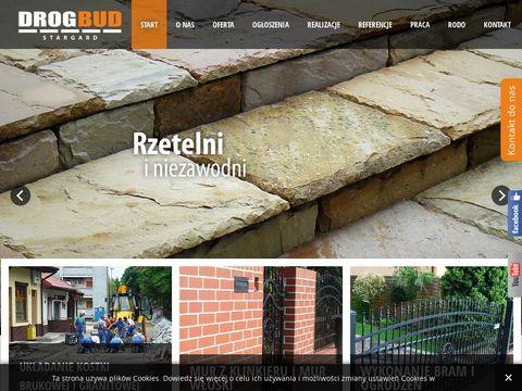 Drogbud budowa dróg Stargard Szczeciński