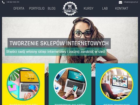 Designcart.pl - tworzenie sklepów internetowych