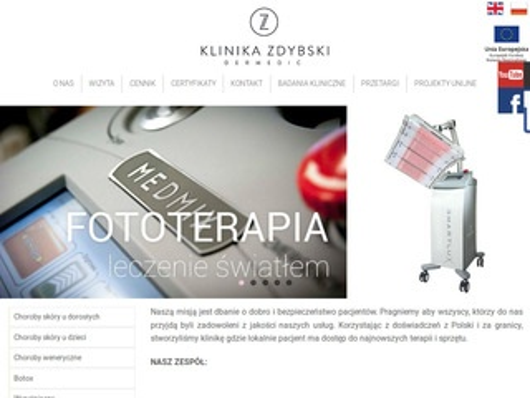Dermatologiazdybski.pl dermatolog
