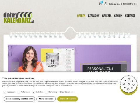 Dobrykalendarz.pl - fotokalendarz tanio