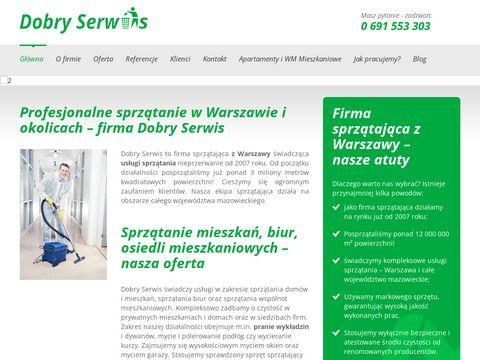 Dobry Serwis usługi sprzątające Warszawa