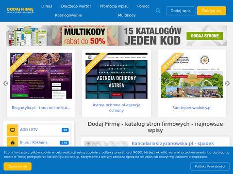 Dodaj-firme.com.pl spis firm