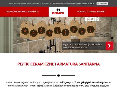 Domex meble łazienkowe Szczecin