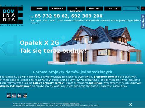 Dominanta.pl gotowe projekty domów jednorodzinnych