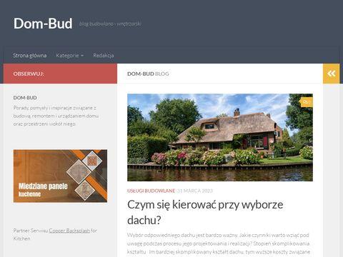 Dom-Bud blog budowlany