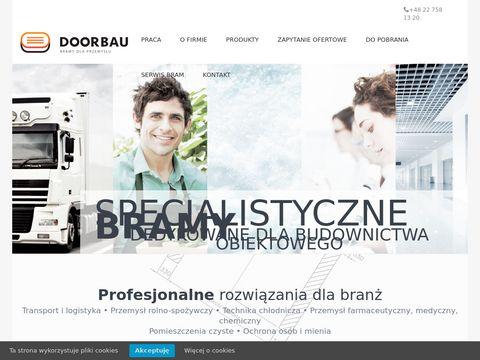 Doorbau.pl bramy dedykowane dla przemysłu