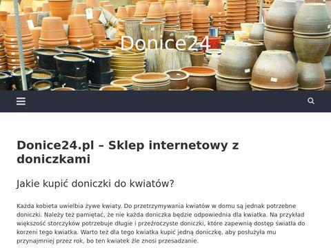 Donice24.pl ceramiczne w sklepie