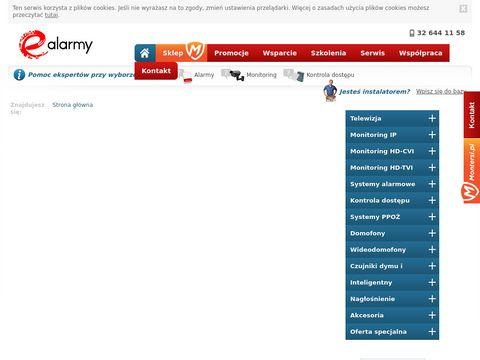 E-alarmy - systemy alarmowe