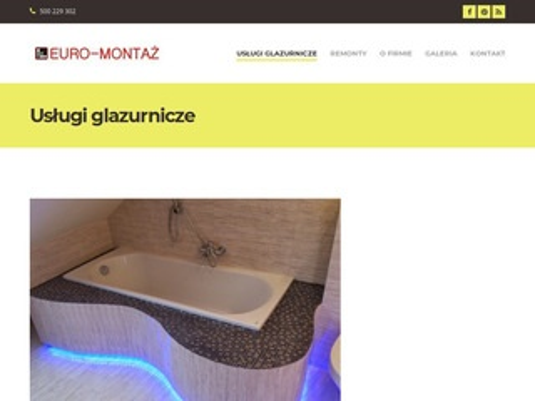 Euro-montaz.com wykończenia wnętrz i remonty