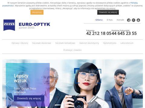 Euro-Optyk badania okulistyczne Pabianice