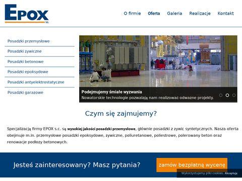 Epox - posadzki przemysłowe
