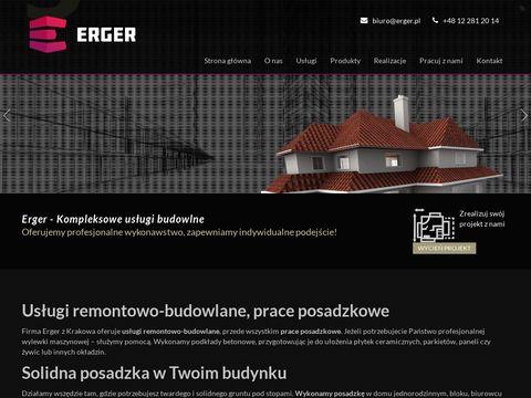 Erger posadzki mixokretem Kraków