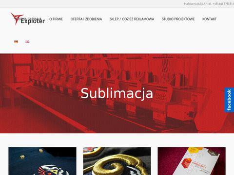 Exploter.com.pl haft Łódź