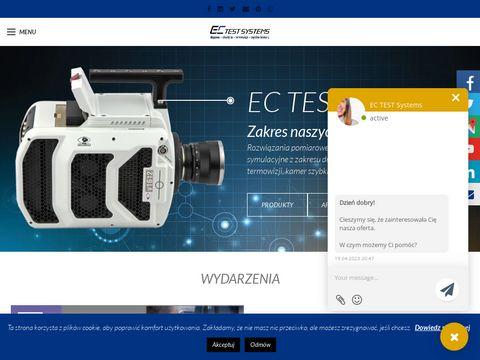 EC Test Systems termowizja aktywna