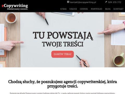 eCopywriting.pl agencja copywriterska