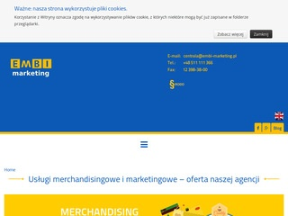 Embi-Marketing agencja merchandisingowa