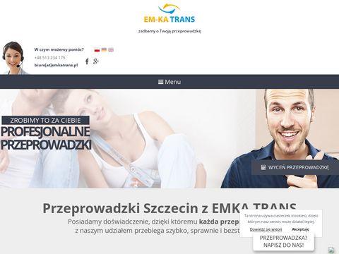 Em-Ka Trans bagażówka Szczecin