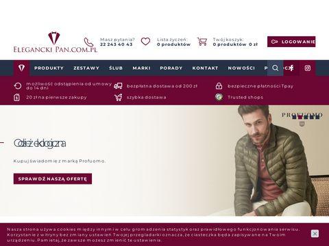 Eleganckie koszule, krawaty i poszetki