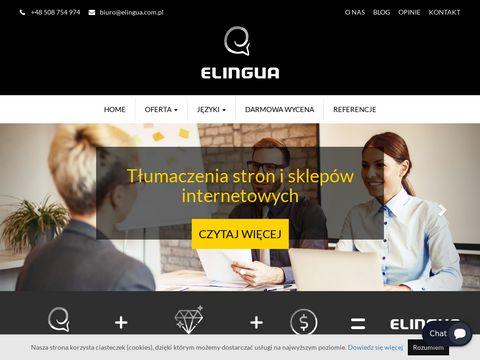 Elingua.com.pl tłumacz przysięgły Katowice
