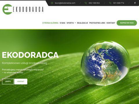 Ekodoradca.com pozwolenie środowiskowe Poznań