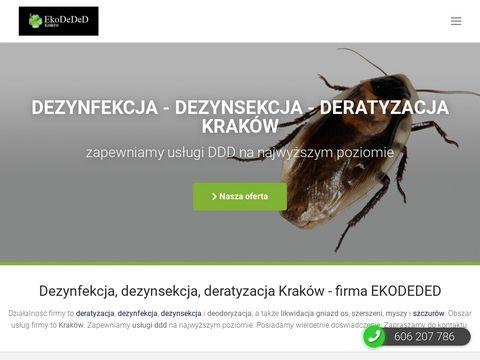 EkoDeDeD zwalczanie karaluchów Kraków