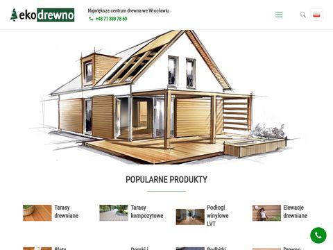 EKO Drewno podbitka dachowa