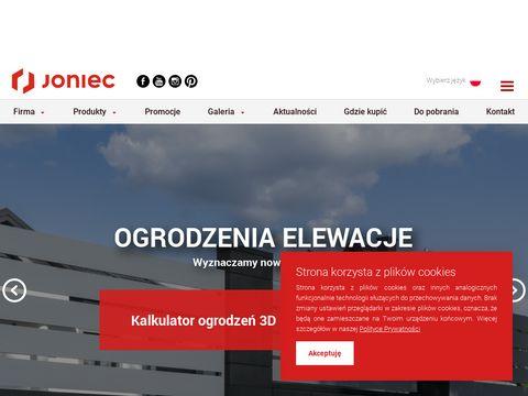 Joniec ogrodzenia Lublin