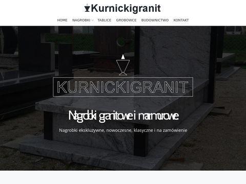 Kurnickigranit.pl zakład kamieniarski