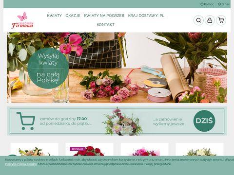 Kwiaciarniafirmowa.com - kwiaciarnia internetowa