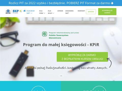 KPIR program dla firmy i biura rachunkowego - SKP