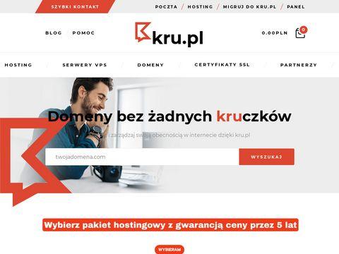 Kru.pl usługi hostingowe